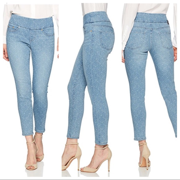 ce5ecfd079a9 JAG pull on high rise skinny ankle jeans Nora 10